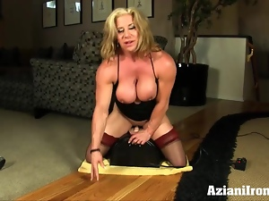 Amateur, Blondes, Fitness, Lingerie, Masturbating, Mature, Milf, Stockings, Sybian