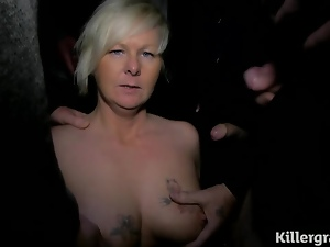 Blondes, Blowjob, Bukkake, Doggystyle, Group sex, Milf, Mom, Outdoor, Tattoo