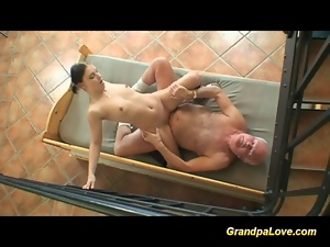 Blowjob, Fucking, Grandpa, Hardcore, Mature, Old, Oral, Sucking, Teens, Young