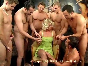 Blondes, Blowjob, Bukkake, Cumshots, Doggystyle, Facials, Gangbang, Riding