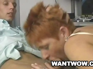 Cougar, Dick, European, Granny, Mature, Young