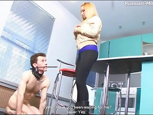 Boots, Leashed, Licking, Trampling