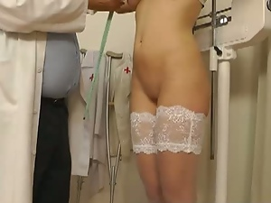 18 year old, Amateur, Bizarre, Brunettes, Doctor, Fetish, Hidden cam, Innocent, Stockings, Teens, Voyeur, Young