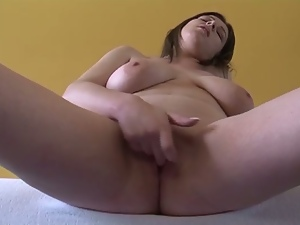 19 year old, Amateur, Big natural tits, Big tits, European, Fat, German, Masturbating, Nude, Solo, Teens, Young