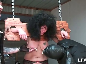 Anal, Anal fisting, Bdsm, Bondage, Brunettes, Dungeon, European, Fisting, French, Granny, Hardcore, Homemade, Mature, Mature amateur, Pain, Pussy, Slave, Torture, Whip