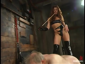 Bdsm, Beautiful, Domination, Femdom, Grandpa, Humiliation, Mistress, Slave, Torture