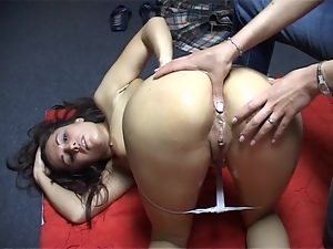 Anus, Babes, Brunettes, Fingering, Lesbian, Massage, Natural boobs, Pussy, Reality, Thong