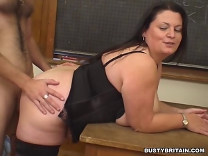 Angel, Banging, Bbw, Big tits, British, Classroom