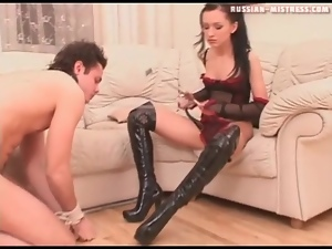 Boots, Booty, Dominatrix, Foot fetish, Gorgeous, Lingerie