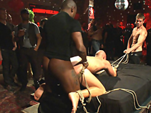Club, Fucking, Gay, Tied up