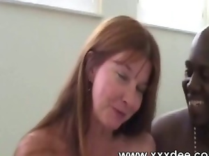 Big tits, Couple, Interracial, Mature, Milf, Redheads