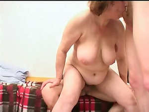 Boobs, Group sex, Mature, Milf, Mom, Russian, Saggy tits