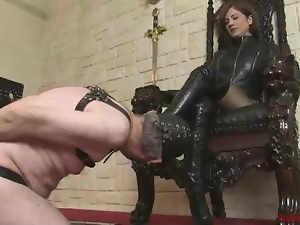 Boots, Femdom, Leather, Milf, Polish, Tongue