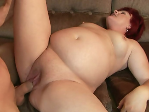 Bbw, Close up, Fat, Hardcore, Mature, Mom, Pussy, Redheads, Short hair