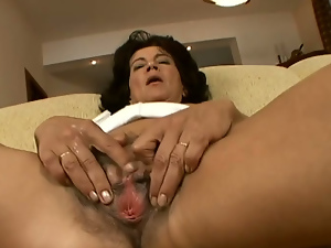 Close up, Hairy, Kinky, Masturbating, Mature, Pussy, Sex toys, Solo