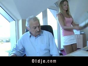 Blowjob, Cum in mouth, Cumshots, Grandpa, Hardcore, Kissing, Old man
