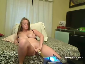 Amateur, Busty, Live cam, Machine sex, Webcam