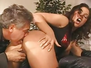Ass licking, Brunettes, Milf, Squirting