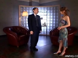 Asian, Babes, Blowjob, Double penetration, Japanese, Spy, Uncensored