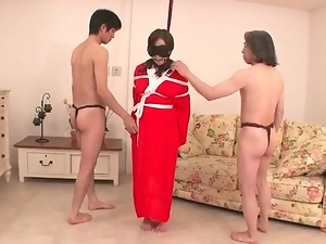 Bondage, Fondling, Japanese, Milf, Tied up