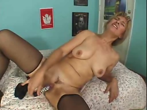 Blondes, Blowjob, Drilled, Mature, Mature amateur