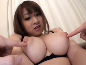 Amateur, Asian, Big tits, Busty, Couple, Cum, Dick, Doll, Hardcore, Japanese, Natural boobs, Sucking, Tits