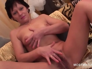 Mature, Mature amateur, Perky, Pussy, Tits
