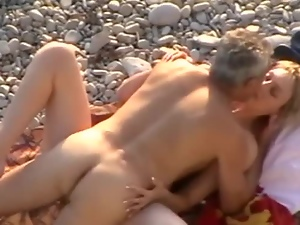 Amateur, Beach, Couple, Cute, Fucking, Hardcore, Husband, Missionary, Outdoor, Wife