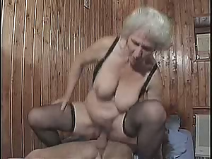 Ass, Blondes, Busty, Cowgirl, Grandma, Granny, Long hair, Pussy, Riding, Whore