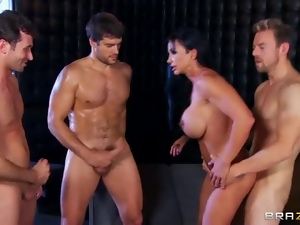 Facials, Gangbang, Muscled, Pornstars