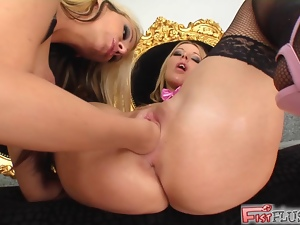 European, Fisting, Hd, Lesbian, Pussy stretching, Ravage, Stockings