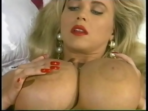 Big tits, Blondes, Huge, Lotion, Mature, Softcore, Stockings, Tits