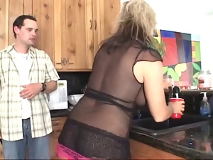 Blondes, Cumshots, Hardcore, Mature, Milf, Plumber, Surprise