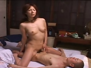 Asian, Japanese, Masturbating, Midget, Milf, Mom
