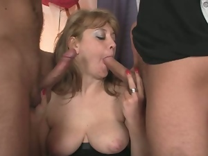 3some, Aged, Granny, Hd, Mature, Mature amateur, Milf, Mmf, Mom, Threesome