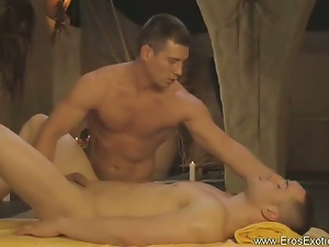 Ass fingering, Gay, Hunk, Nuru massage, Oiled