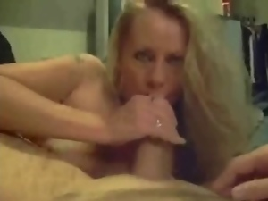 Bedroom, Big tits, Blondes, Blowjob, Cumshots, Mature