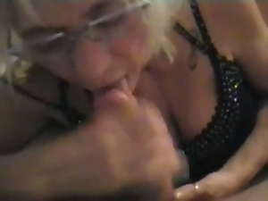 Bedroom, Blondes, Blowjob, Cumshots, Mature