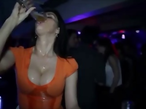 Beer, Big tits, Boobs, Busty, Drinking, Funny, Milf, Shower, Voyeur