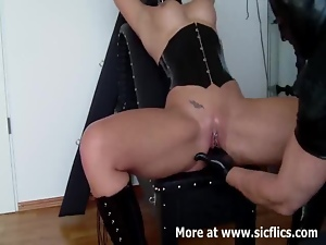 Bdsm, Busty, Cunt, Fisting, Fucking, Slave, Squirting