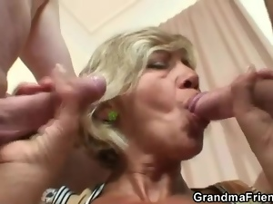 Hardcore, Lady, Mature, Old, Sexy, Threesome