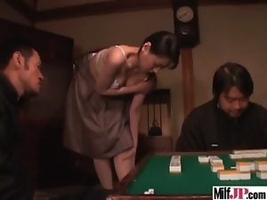 Sexy Slut Milf Japanese Get Rough Sex clip-15