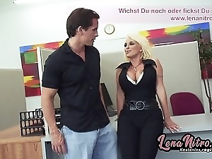 Amateur, Big cock, Big tits, Blondes, Cum in mouth, Deepthroat, European, German, Hardcore, Office, Reality